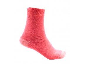 Ponožky Televizorky losos