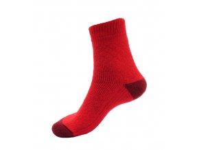 Ponožky Televizorky červená