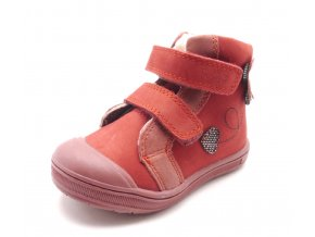 Dětská zimní obuv DA03-305A Red