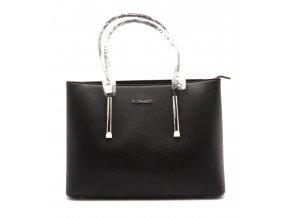 Elegantní dámská kabelka 13-55 černá 2