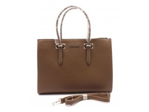 Elegantní dámská kabelka 13-06 BROWN