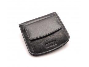Pánská kožená peněženka W-2021 BLACK