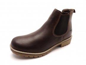 Dámská hnědá kotníková obuv 2-26461-29