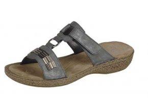 Dámské elegantní pohodlné pantofle 65860-42