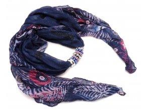 Šátek s ozdobou 20