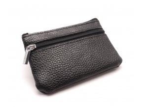 Malá peněženka s klíčenkou CH 1 BLACK