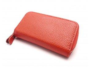 Malá peněženka s klíčenkou CH 2 RED