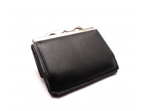 Dámská kožená peněženka 553344 BLACK