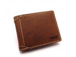 Pánská kožená peněženka 511462 TAN