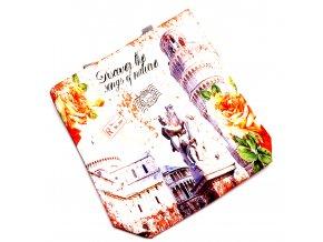 Elegantní taška textilní ITALY