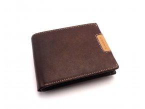 Pánská kožená peněženka 615196 BROWN