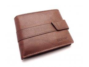 Pánská kožená peněženka V-03 BROWN