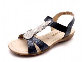 Dámské tmavě modré sandály R3638-14