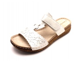 Dámské elegantní pohodlné pantofle 2-27505-125