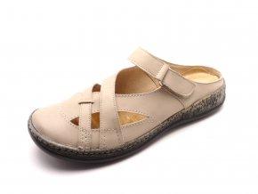 Dámské kožené pantofle 81685/30