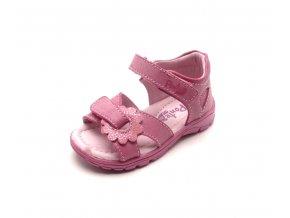 Dětské sandálky DA05-1-500 dark pink