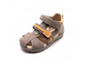 Dětské sandálky DA05-1-507A chocolate