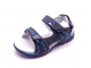 Dětské sandálky tmavě modré S217002