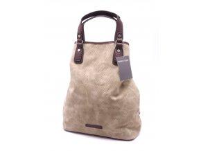 Elegantní dámský batoh/kabelka 2-61114-20 Multicolour