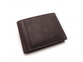 Pánská kožená peněženka 7176 E BROWN
