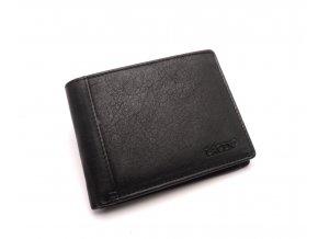 Pánská kožená peněženka 7176 E BLACK