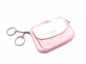Peněženka s klíčenkou 786-382 ORANGE/BEIGE