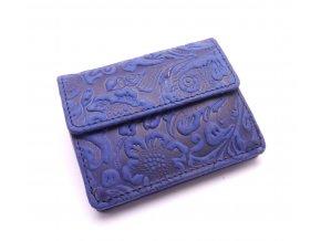 Dámská peněženka s ornamenty w1112-36 BLUE