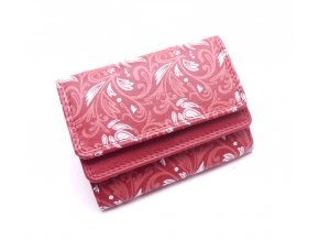 Malá kožená peněženka X1185-88 RED