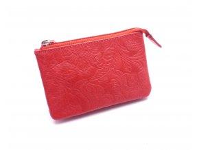 Peněženka na drobné a klíčenka v jednom D55-37 RED