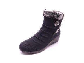 Dámská kotníková obuv na klínku Y0363-01