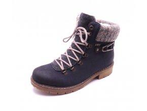 Dámské kotníkové boty s pleteninou Y9131-14