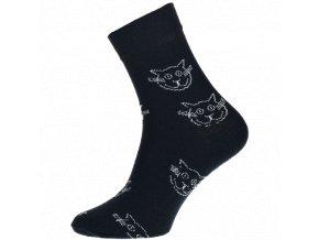 kocky cerne ponozky