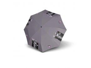 Dámský deštník 726465RC Kočky fialový
