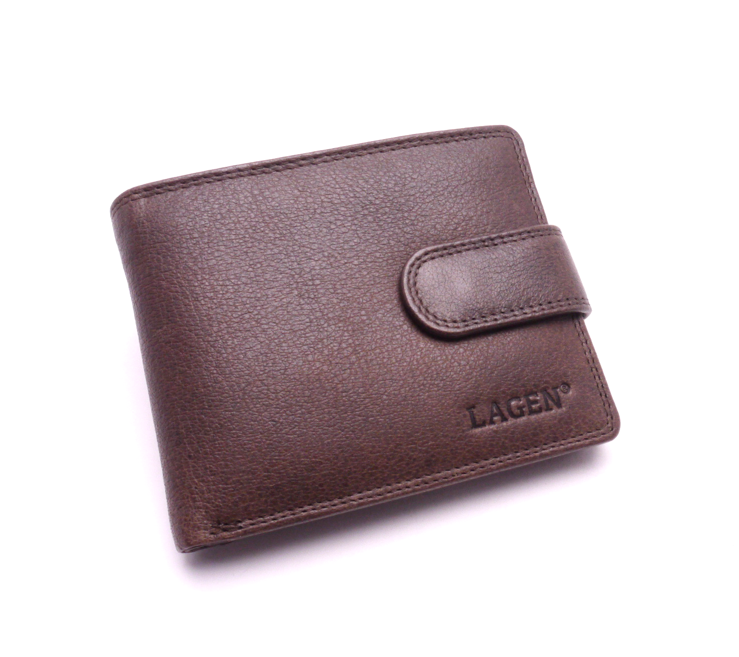 Lagen Pánská kožená peněženka 4006 BROWN