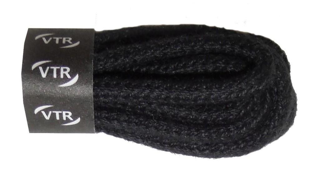 VTR Tkaničky bavlněné kulaté tenké (druh 2) Barva: černá, Délka: 140 cm