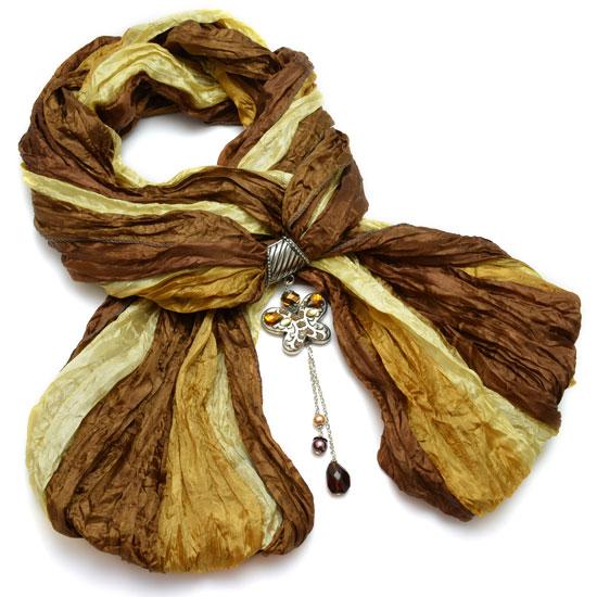 MCM Šátek s motýlem - varianta 12