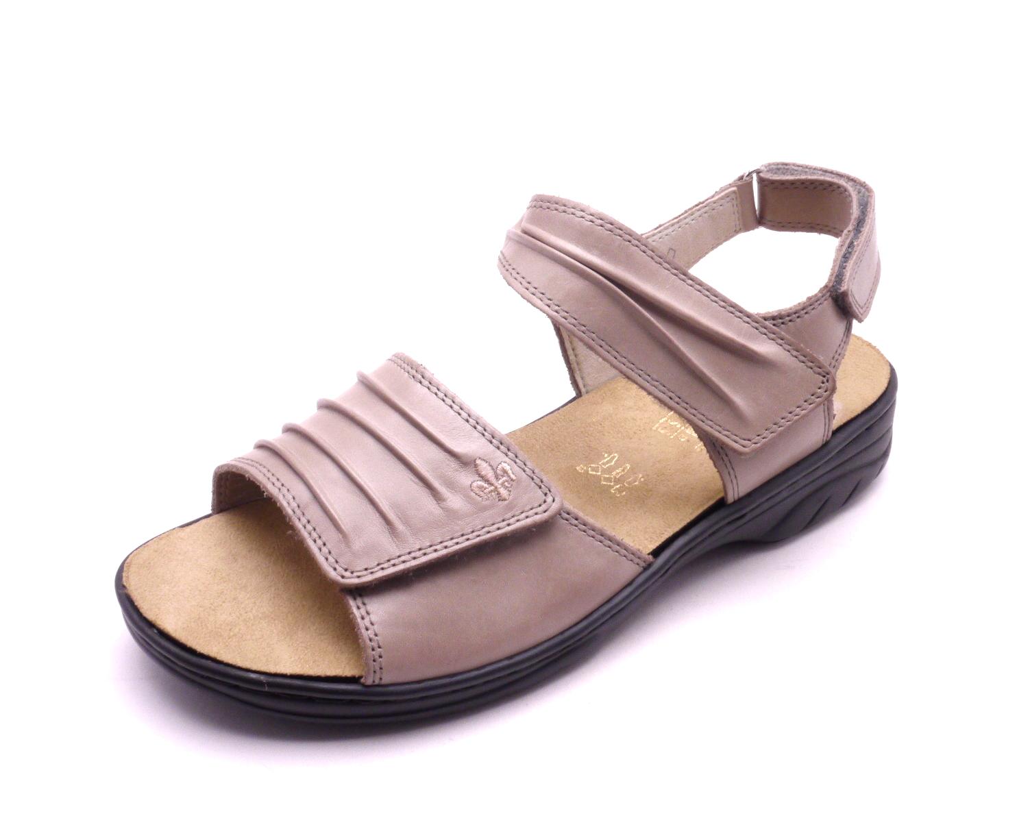 ac93c43905cf Rieker Dámské béžové sandály 64560-42 Velikost  37