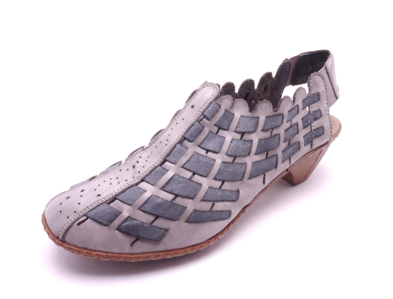 e5136bc688 Rieker Dámská proplétaná obuv 46778-40 Velikost  37