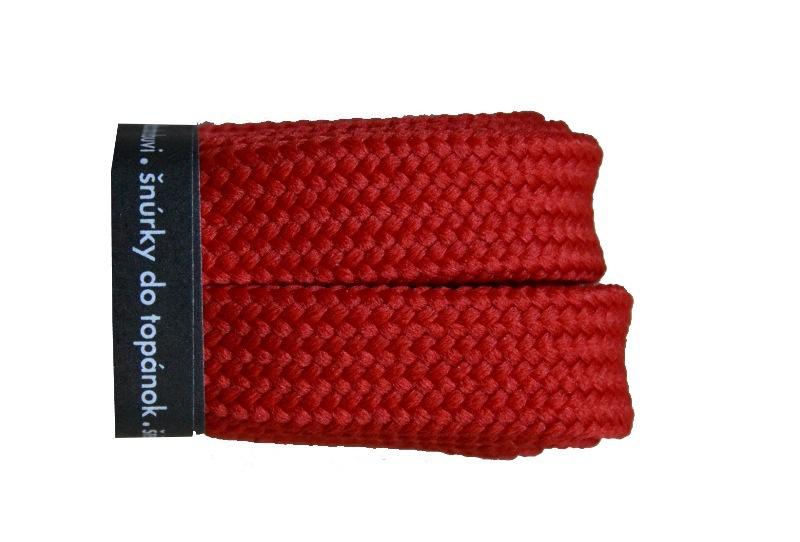 VTR Tkaničky skate Barva: červená, Délka: 120 cm
