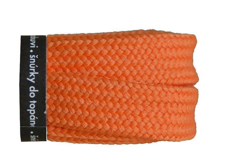 VTR Tkaničky skate Barva: oranžová, Délka: 140 cm