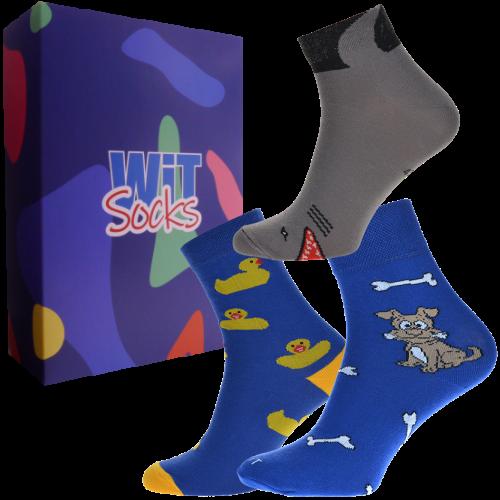 Dárkový set - ponožky Zvířátka velikost: 39-42