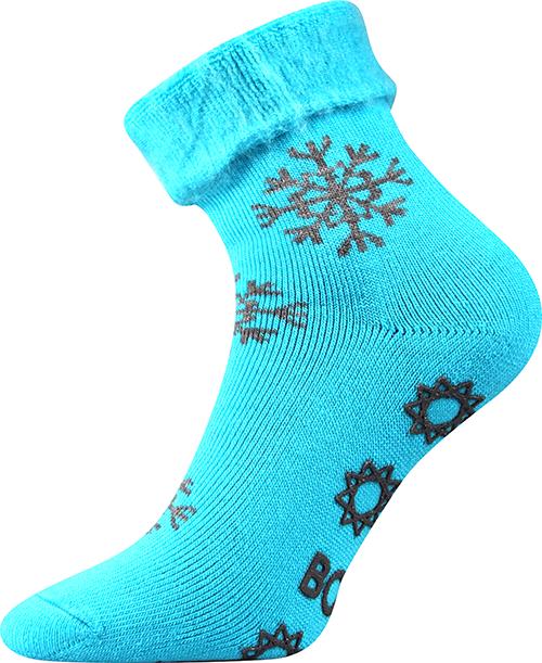 Boma Ponožky Lujza - modrá velikost: 39-42