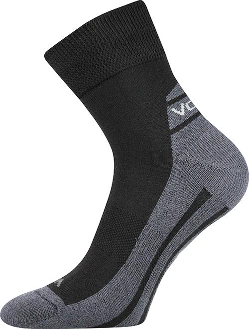 Voxx Ponožky Oliver - černá velikost: 35-38