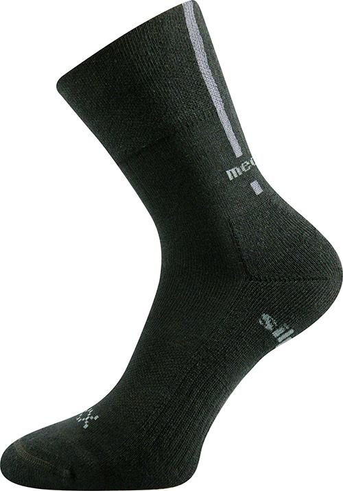 Voxx Ponožky Enigma - černá velikost: 35-38
