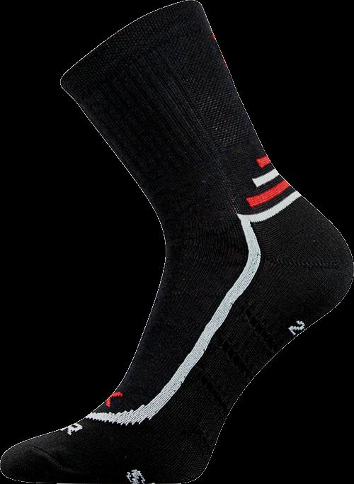 Voxx Ponožky Vertigo - černá velikost: 35-38