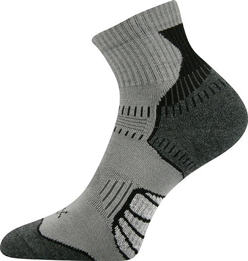 Voxx Ponožky Falco - šedá velikost: 35-38