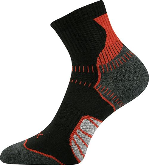 Voxx Ponožky Falco - červená velikost: 35-38