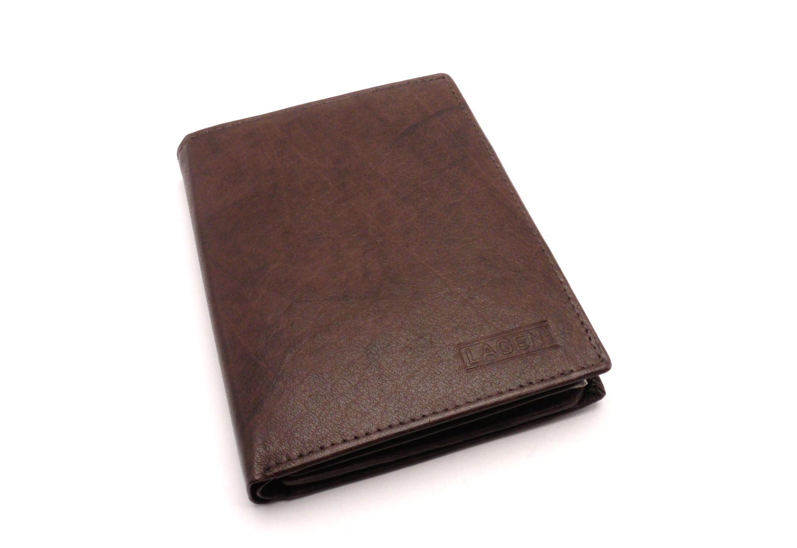 Lagen Pánská peněženka V-2 BROWN