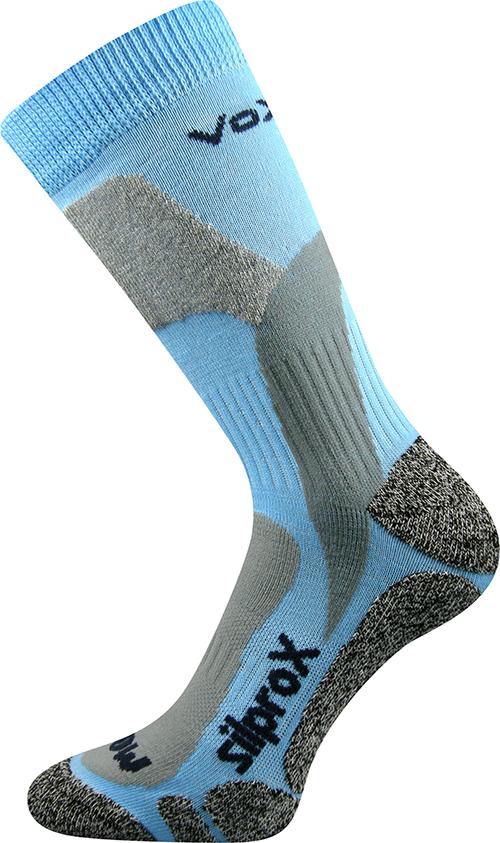 Voxx Ponožky Ero snow - modré velikost: 35-38