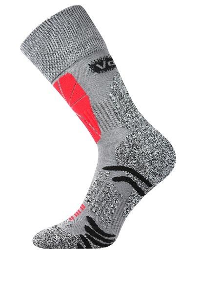 Voxx Ponožky Solution - šedé velikost: 35-38